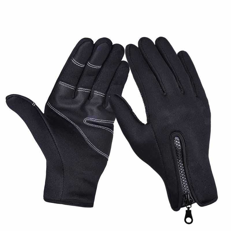 Camping Long Winter Outdoor Skiing Gloves Guantes Cycling Riding Fleece Thermal Touch Screen glove for Men Women/Men