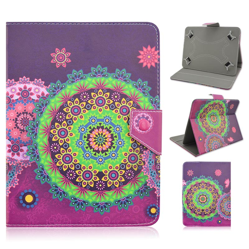 For Samsung T110 7 inch Universal Leather Cover Case For Acer Iconia Talk B1-723 16Gb Android 7.0 inch Tablet PC PAD Y4A92D
