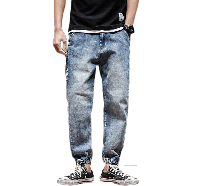 H A Sueno 2018 New Japan Style Men S Jeans Vintage Cropped Pants