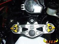 17mm CNC Fork Preload Adjusters For Yamaha R6 1999 2000 2001 2002 2003 2004 2006 2007