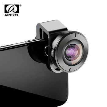 APEXEL HD 195 degree super fisheye lens phone camera lenses with universal clip for Xiaomi Huawei all smartphone dropshipping