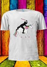 Star Wars Darth Vader Unicorn Funny T-shirt Vest  Men Women Unisex 2243 Free shipping Harajuku Tops Fashion free