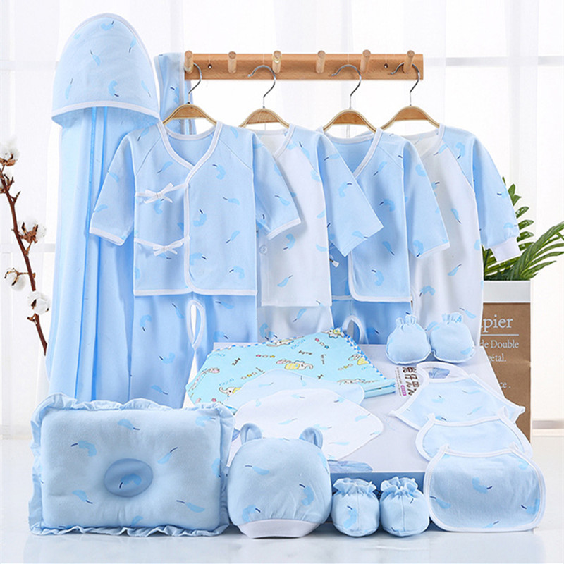 100%Cotton Summer Winter Newborn Baby Set Baby Newborn Underwear Set 18-21Piece борис долинго точка джи эл