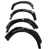 Car Accessories Unpaint Plastic Front Rear Arch Wheel Fender Flares Protector 6pcs Set For Toyota C