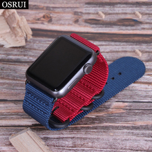 Strap For Apple watch band 4 44mm 40mm Sport Loop Woven nylon correa 42mm 38mm Iwatch 3 2 1 Watchbands bracelet wrist belt woven nylon for apple watch band 4 44mm 40mm sport loop watchband iwatch series 4 3 2 1 42mm 38mm bracelet breathable wrist belt