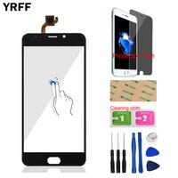YRFF Vetro Anteriore Del Telefono da 5.5 pollici Per Leagoo M7 Touch Screen Touch Panel Digitizer Vetro Strumenti Pellicola Della Protezione Gratuita Adesivo