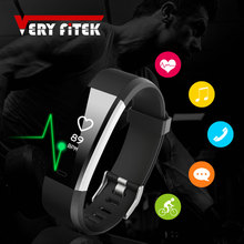 ФОТО ID115PLUS Smart Wristbands Fitness Bracelet Heart Rate Tracker Smartband Waterproof Fitness Bracelet Pk Mi Band 2 FitBits