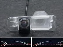 цена на Fisheye Lens Trajectory Tracks 1080P Car Rear view Camera for Kia K2 Rio Sedan 2011 2012 2013 2014 2015 Reverse Parking Camera