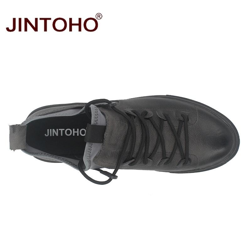 Chaussures Luxe Véritable De Glitter gray Mocassins Adulte Jintoho Pour Cuir Qualité Hommes Décontracté En Supérieure Black Marque xXRW4Sq