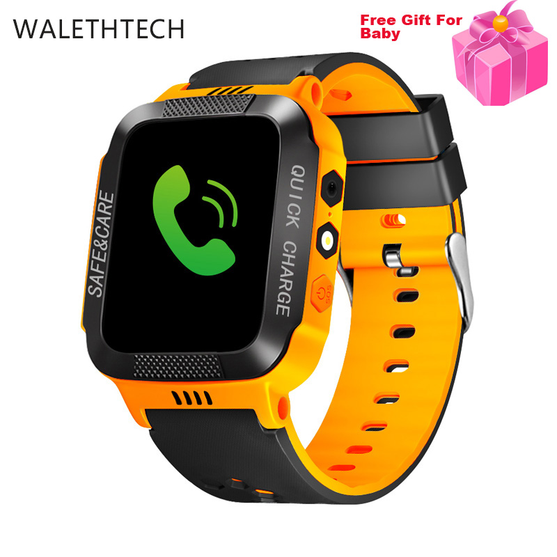 LBS location tracker touch screen SOS call children smart watch relogio inteligent alarm voice chat for baby kids Smart phone