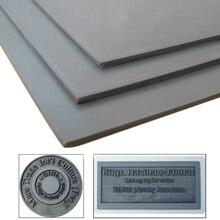 1 pc A4 אפור לייזר גומי גיליון לעמוד שמן שחיקה מדויק חריטת הדפסת אוטם חותמת 297x211x2.3mm