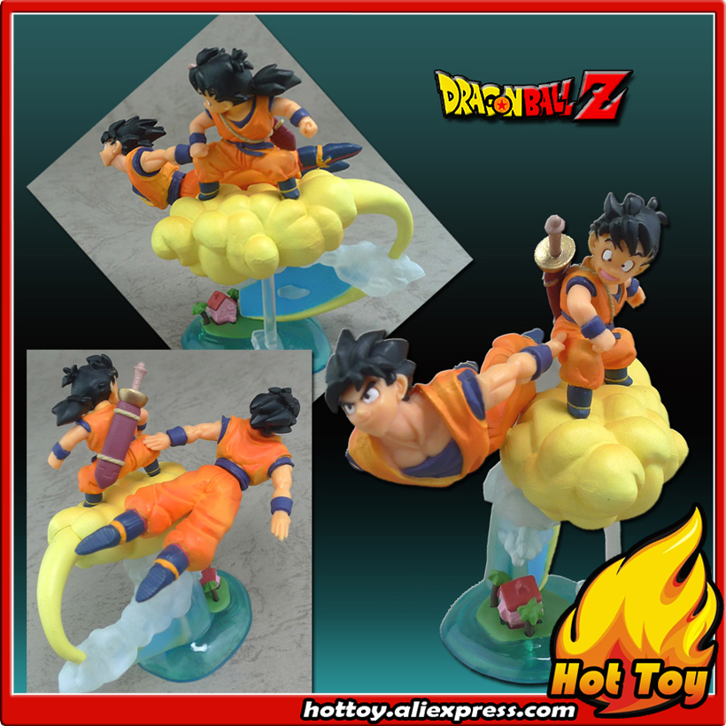 100% Original BANDAI Gashapon PVC Toy Figure HG Imagination 07 - Son Goku & Gohan from Japan Anime Dragon Ball Z (8cm tall) sailor moon capsule communication instrument machine accessory gashapon figure anime toy full set 100