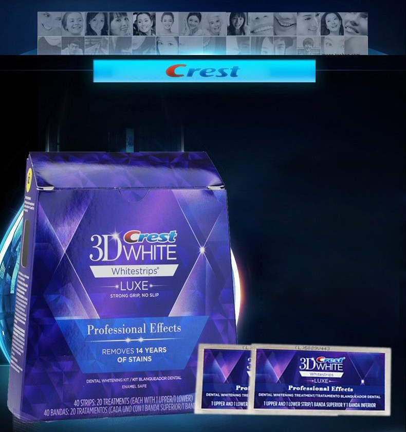 Crest 3d White Whitestrips Luxe Professional Effects Original Oral
