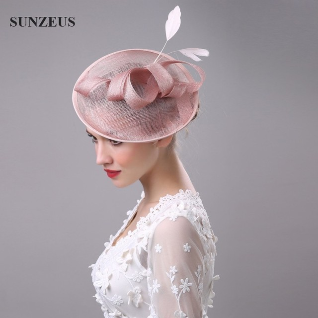 20e60bb14ee2a Wholesale High Quality Hair-Fascinators Bow Feathers Hats For Wedding Mother  Of The Bride Hats Hoed Voor Bruiloft Vrouwen SQ008