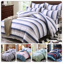 Liantianhong Color Stripe 5 6 7 Feet 3 4 Pcs Bedding Set