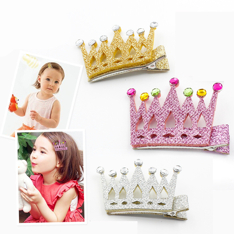 Flower Crown Hair Accessories Korea Princess Hair Clips For Girls Hair Bows Hair Ornaments Rim Hairpin