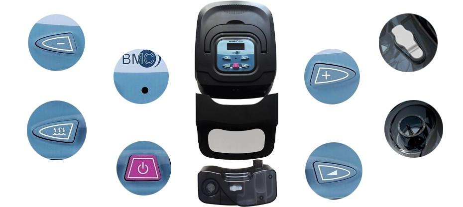Doctodd GI APAP Auto CPAP GI APAP Machine for Sleep Snoring And Apnea Therapy APAP With Humidifier Nasal Mask Tubing and Bag (16)