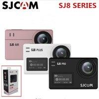 SJCAM SJ8 Series SJ8 Air & SJ8 Plus & SJ8 Pro 1290P 4K Action Camera WIFI Remote Control Waterproof Sports DV kamera vs SJ7 star