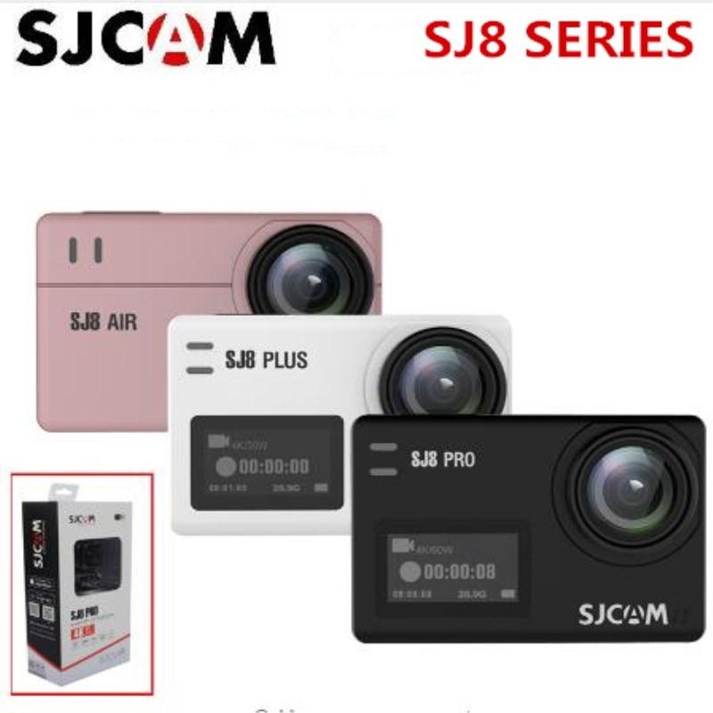 SJCAM SJ8 série SJ8 Air & SJ8 Plus & SJ8 Pro 1290 P 4 K caméra d'action WIFI télécommande étanche sport DV kamera vs SJ7 star