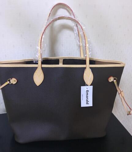 Mode, heißer verkauf!! Smaragd 2019 neue damen handtasche GM/MM neverfull pu tasche, gute qualität tasche freies verschiffen
