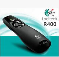 סיטונאית/קמעונאות Logitech R400 מצביע לייזר, 2.4 GHz Wireless Presenter R400, לייזר אדום LED, usb לייזר עט הוראה
