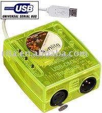 USB-DMX512 Главный Контроллер; может управлять с помощью ПК