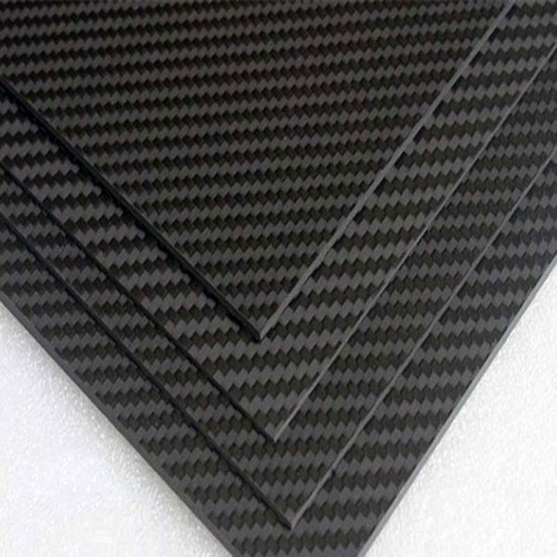 Full 3K Carbon fiber Plate sheet Board material matte twill 400*500 400x500mm 40x50cm thickness 3mm 4mm 200mm x 300mm x 3mm carbon sheets high composite hardness material 3k pure carbon fiber board 3mm thickness