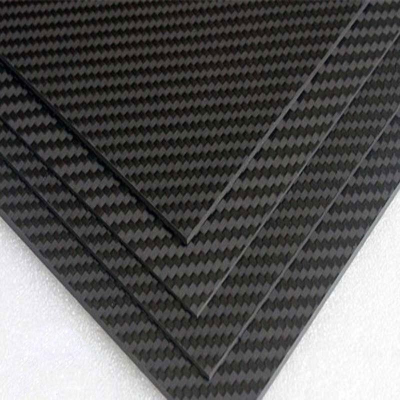 Pieno 3 k Piastra In fibra di Carbonio foglio di materiale di Bordo opaco twill 400*500 400x500mm 40x50 cm di spessore 3mm 4mm-in Componenti e accessori da Giocattoli e hobby su  Gruppo 1