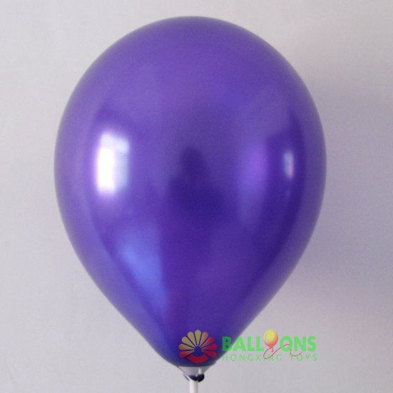"""Wholesale dark purple pearlized balloon with lowest price,10"""",2.2g"""