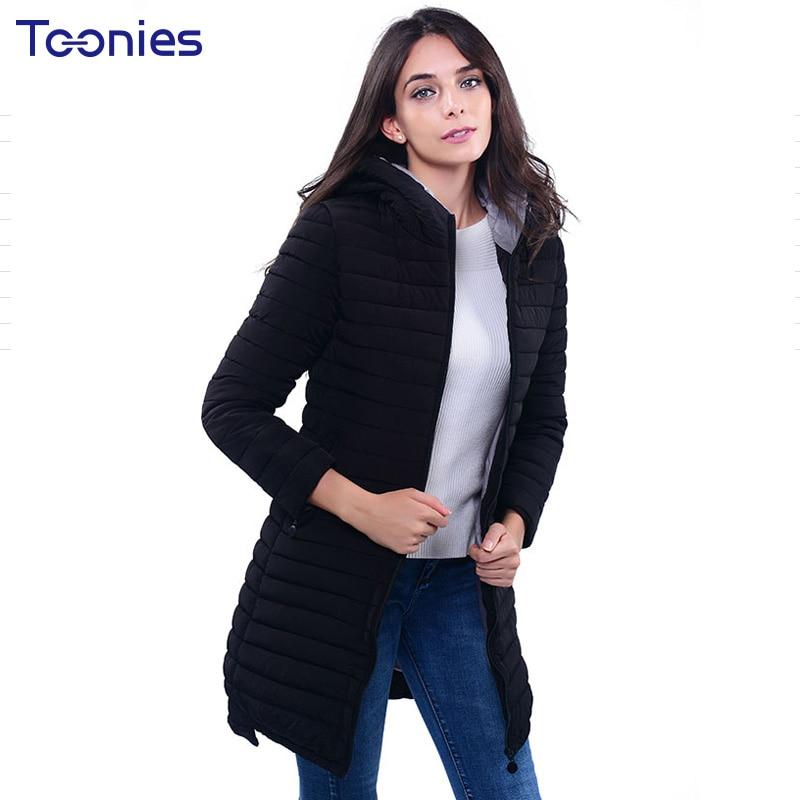 Women Winter Coats Down Thin Cotton Hooded Parkas Solid Elegant Zipper Fashion Ultralight Basic Jacket Outwear Plus Size XXXL
