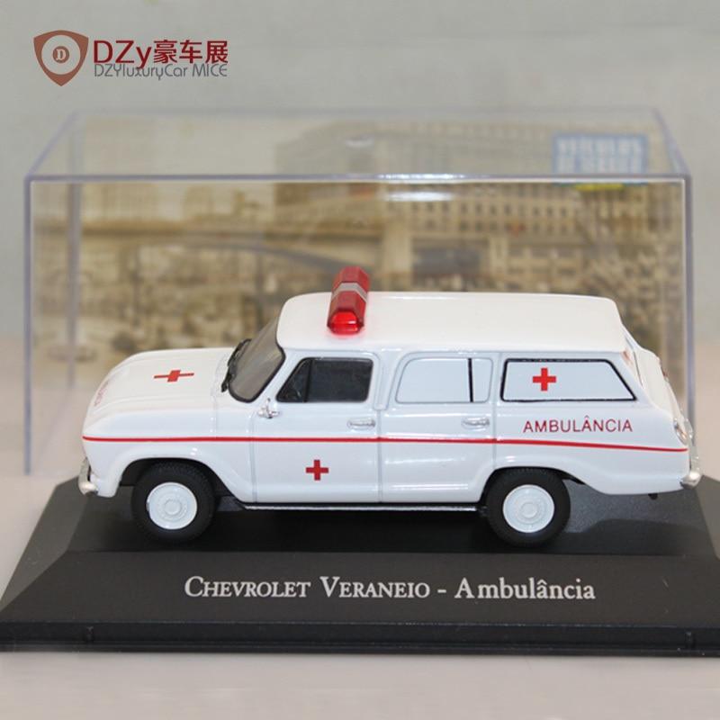1:43 Altaya Chevrolet Veraneio Ambulancia