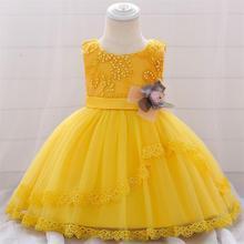 vestido infantil For Baby Girls Christening Princess Dress F