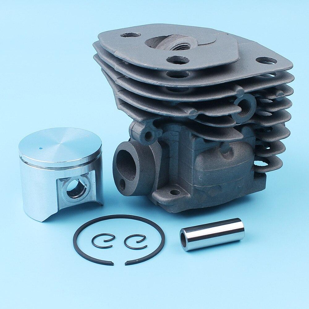 חלקי חילוף לקטנועים 47mm צילינדר בוכנה פין רינג Kit עבור הוסקוורנה 357 359 Jonsered 2159 CS 2156 CS2159 EPA המנסרים Nikasil מצופה 537 15 73 02 (2)