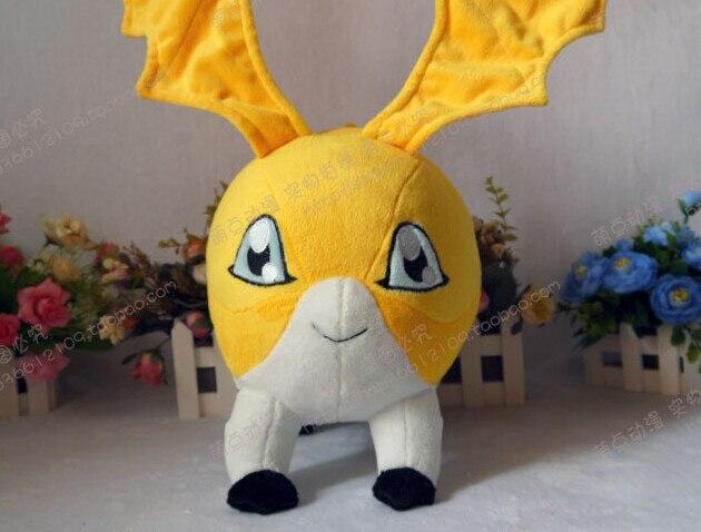 Digimon Приключения tsukaimon Плюшевые игрушки ручной работы Косплэй реквизит 25 см