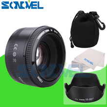 YONGNUO YN50mm f1.8 AF Lens YN50 Aperture Auto Focus Camera Lens for Canon EOS 800D 760D 750D 80D 77D 7D 6D 5Ds DSLR Camera
