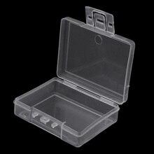 Прозрачный Рыболовную Приманку Снасти Крюк Приманки Пластиковый Ящик Для Хранения Контейнеров Случае