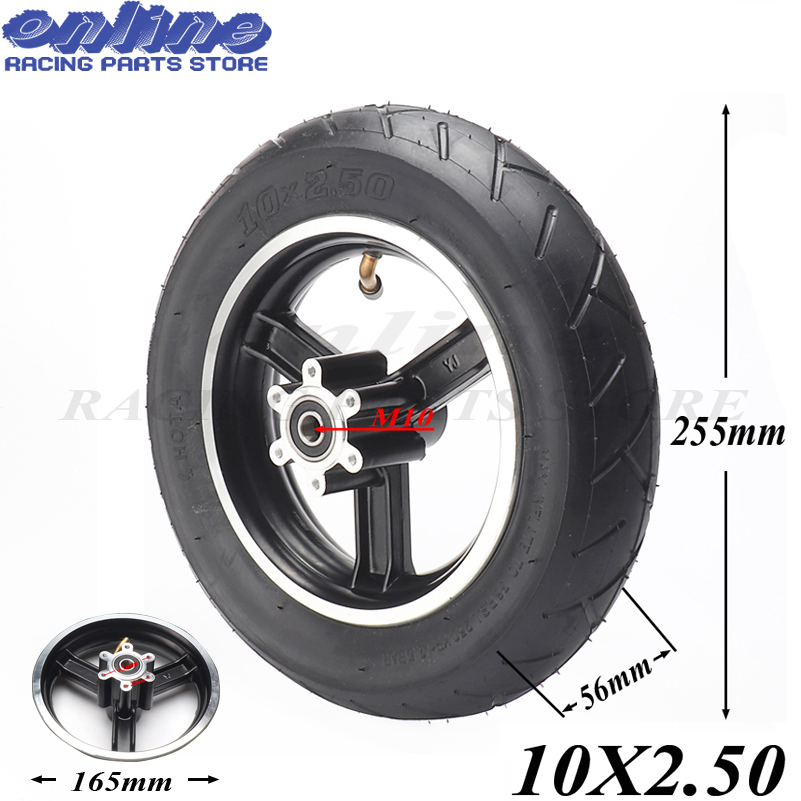 10x2.50 SPEEDWAY <font><b>10*2.5</b></font> inch wheel hub electric scooter Inner tube outer tube Explosion-proof <font><b>tires</b></font> Advanced <font><b>tire</b></font> set image