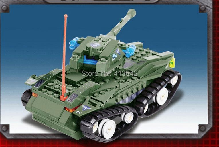 Kazi Tank 81005 Building Blocks Sets 270pcs Legoland Educational Jigsaw Construction Bricks Toys For Children