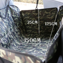 Waterproof Oxford Pet Car Seat Covers Traveling Carrying Dogs Double Thicken Puppy Car Interior Seat Mats Camouflage Hammock Mat(China)