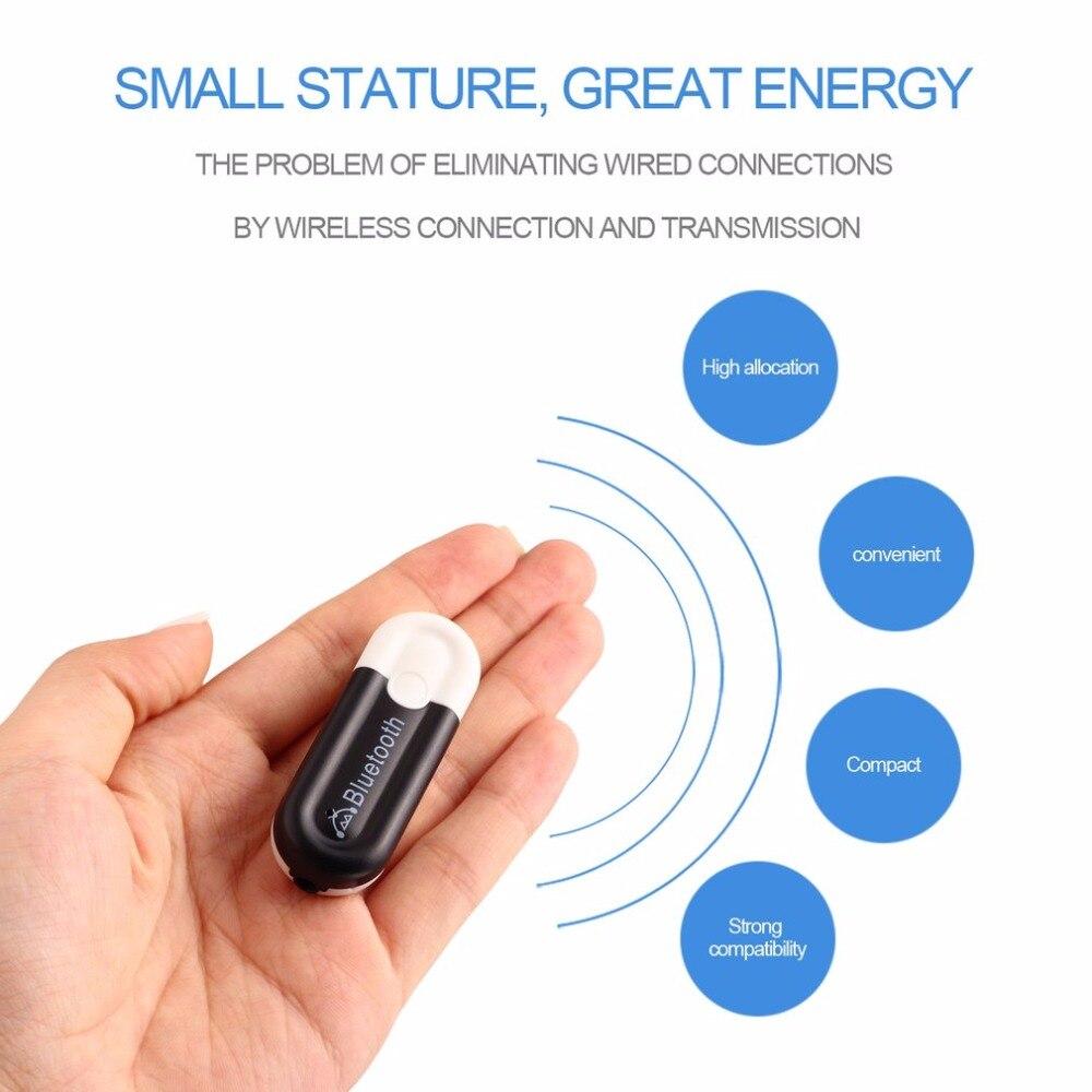 Oprecht Yu-102 Usb Bluetooth 4.0 Hoge Prestaties Muziek Ontvanger 3.5mm Audio Interface A2dp Adapter Dongle Ondersteuning Usb Audio En Hid Ideaal Cadeau Voor Alle Gelegenheden