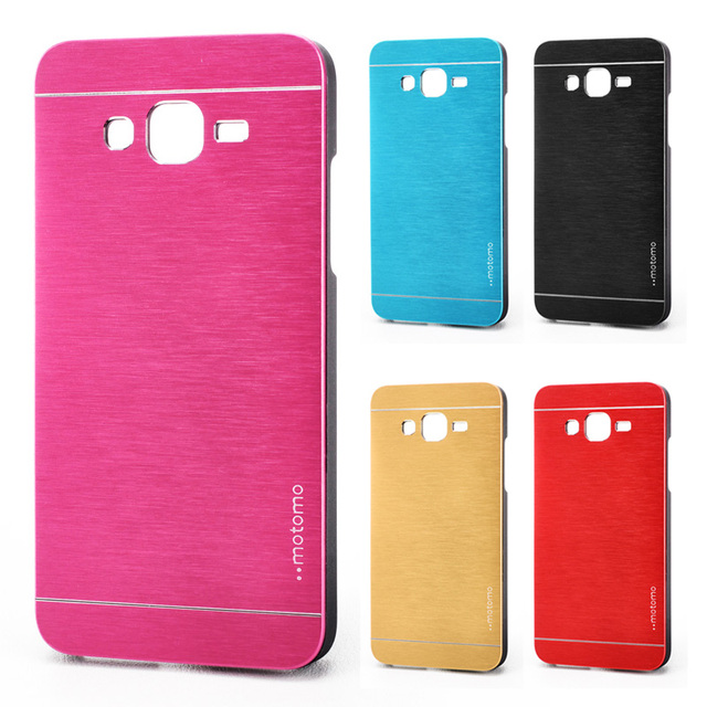 online store 4a8c4 175d4 US $2.8 |Motomo Back Cover Case for Samsung Galaxy Core 2 G355H 355H  PC+Aluminum Brush Metal Case Luxury Protective Mobile Phone Bags on ...