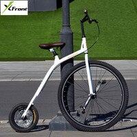 Новый брендовый городской Ретро велосипед, велосипедное углеродное стальное большое и маленькое колесо для езды на велосипеде Bicicleta синий/