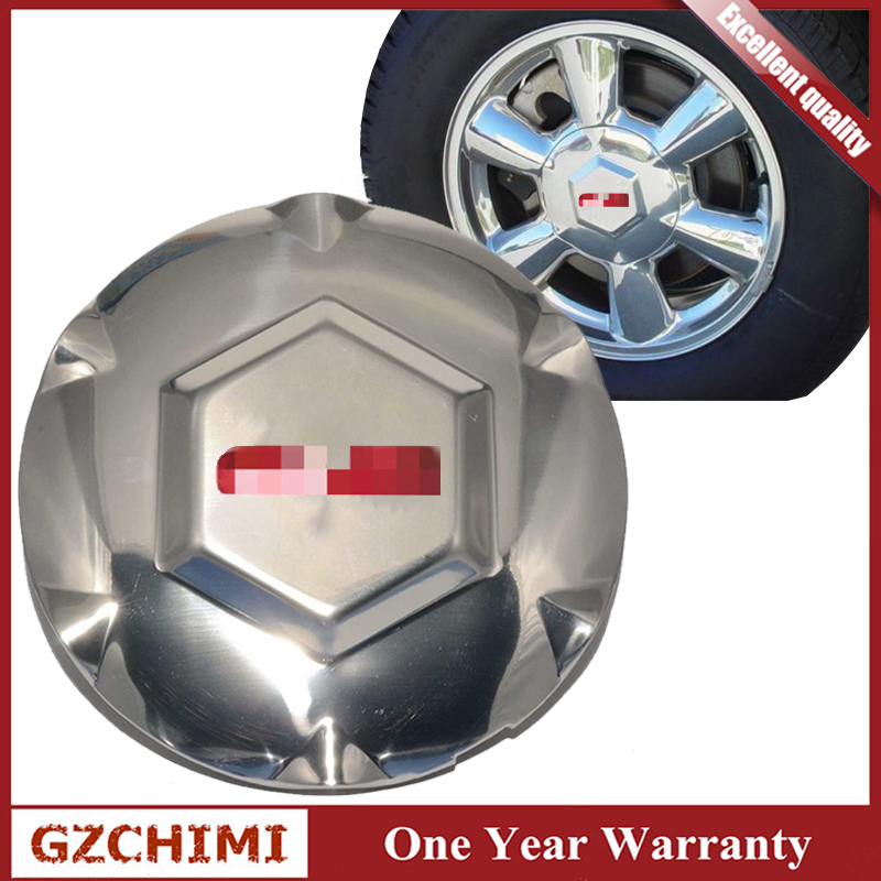 New 9593396 Chrome Wheel Center Hub Caps Cover For GMC Envoy XL XUV 2002 2003 2004 2005 2006 2007 image