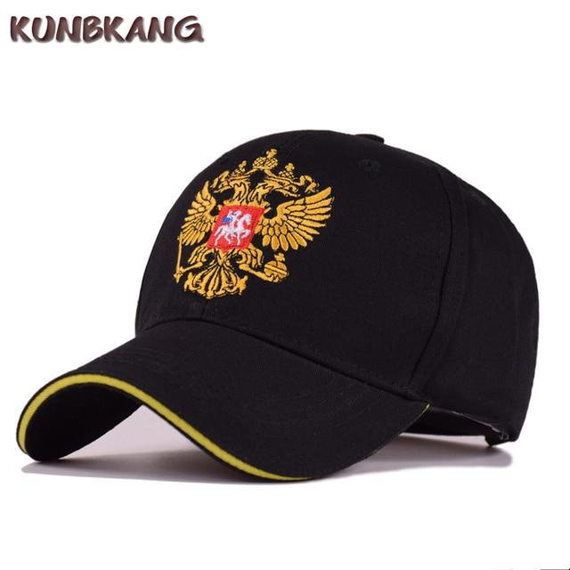 fc26439bd4d 2018 New Men Women Russia Baseball Cap Cotton Snapback Hat Casquette Unisex  Casual Embroidery Russian Emblem Hip Hop Cap Gorras
