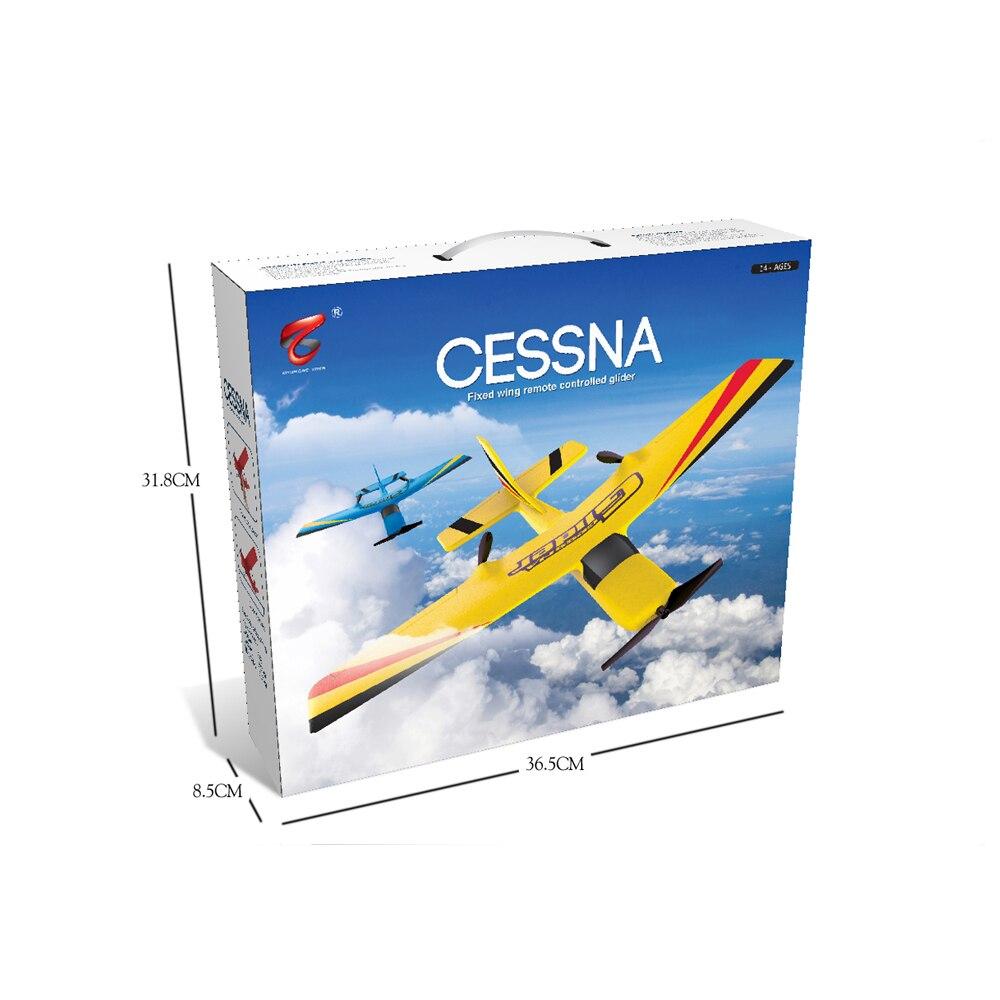 Z50 RC avion EPP mousse planeur avion gyroscope 2.4G 2CH télécommande envergure 25 minutes temps de vol RC avions jouet 6