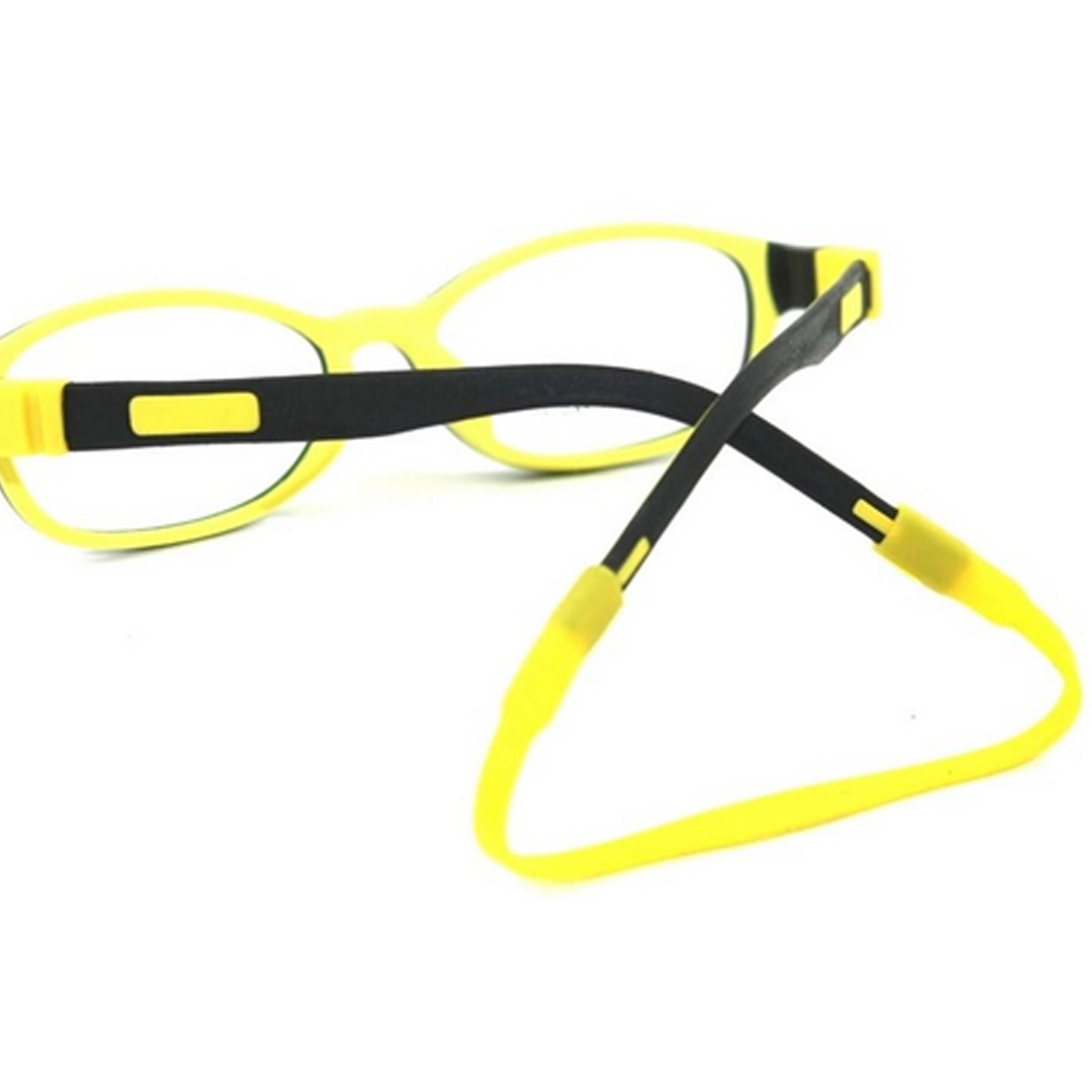 New Elegent Eyeglasses Cord Silicone Head Band Strap Cord Glasses Safety Band Strap Retainer Sports Holder Chain