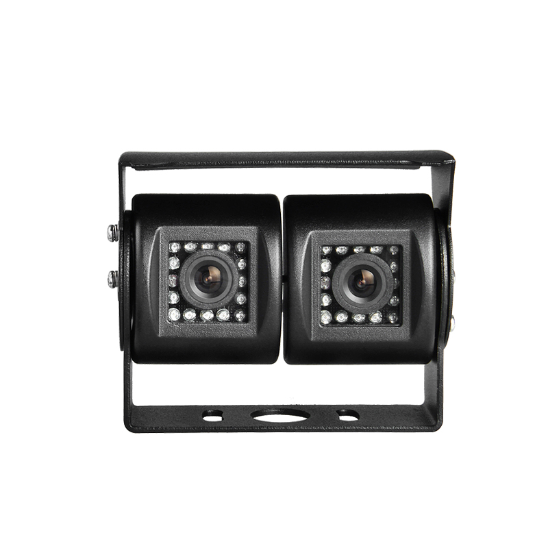 Dual cam car parking camera 3.6mm lens 32pcs led hd ir night vision waterproof rear view car camers with ccd sony ...