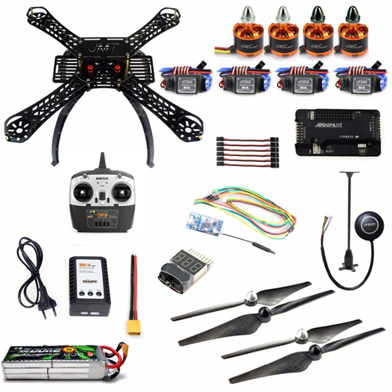 DIY Kit 2 4GHz 4Axis RC Quadcopter with APM 2 8 M7N GPS T8FB RX Wireless