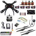 DIY Kit 2.4GHz 4Axis RC Quadcopter with APM 2.8 M7N GPS T8FB RX Wireless WiFi Transmission Atitude Hold One Key Return Drone