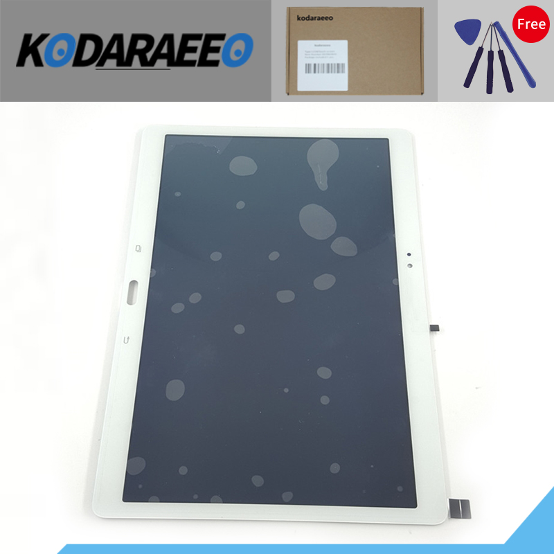 kodaraeeo Touch Screen Digitizer with LCD Display Assembly for Samsung Galaxy Tab S T800 T805 SM-T800 SM-T805 Replacement Parts srjtek 10 5 for samsung galaxy tab s t800 t805 sm t800 sm t805 touch screen digitizer sensor glass tablet replacement parts
